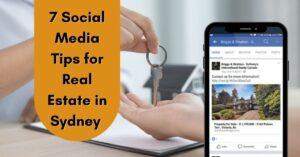 Social Media Tips for Real Estate in Sydney